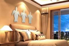 3d Render Of Luxury Hotel Room Interior View