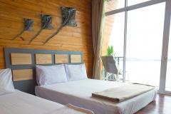 Tropical Bedroom Interior Stingray