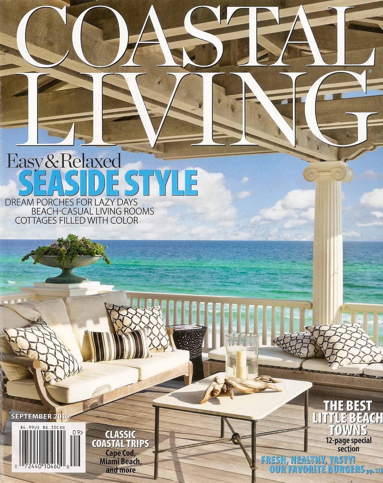 Living Magazine press testimonials iron fish coastal sculptor allen