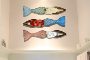 Mermaid Wall Sculptures