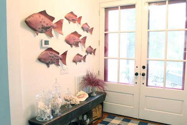 Current Fish Sculptures