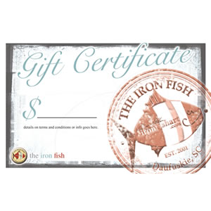 coastal gift certificate