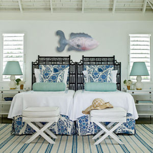 coastal cottage bedroom